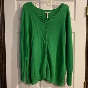 Old Navy Maternity Green Cardigan XXL
